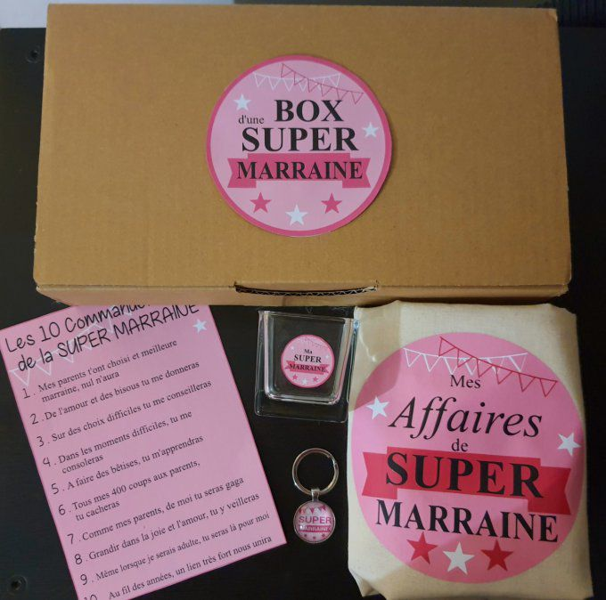 Box Super Marraine