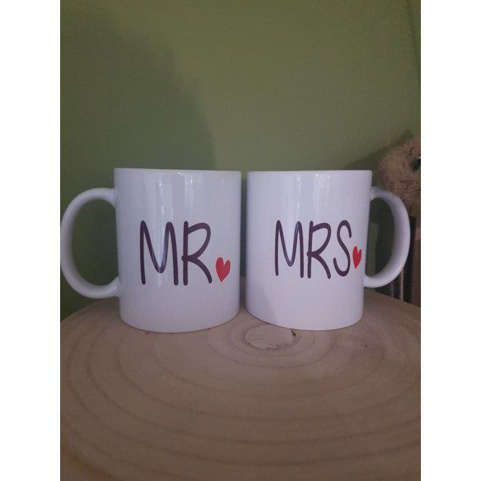 Duo mug Mr et Mrs